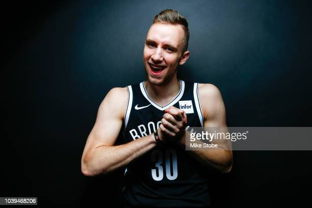 Dzanan Musa of the Brooklyn Nets poses for a portrait during Media Day at the HSS Training Facility on September 24 2018 in New York City NOTE TO...