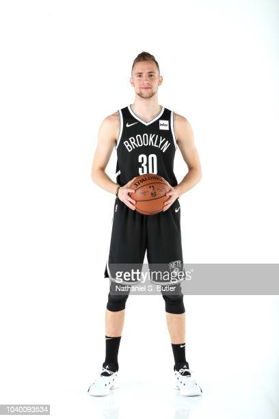 Dzanan Musa of the Brooklyn Nets poses for a portrait during Media Day on September 24 2018 at HSS Training Center in Brooklyn New York NOTE TO USER...