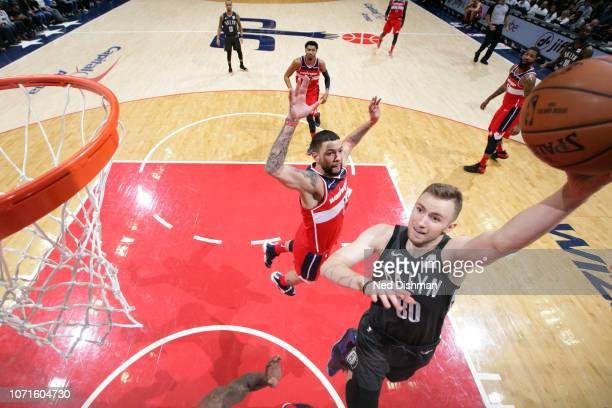 Dzanan Musa of the Brooklyn Nets shoots the ball against the Washington Wizards on December 1 2018 at Capital One Arena in Washington DC NOTE TO USER...