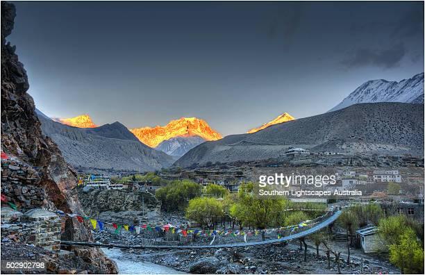 Dzarkot, Mustang, Annapurna region, Himalaya's, Nepal.