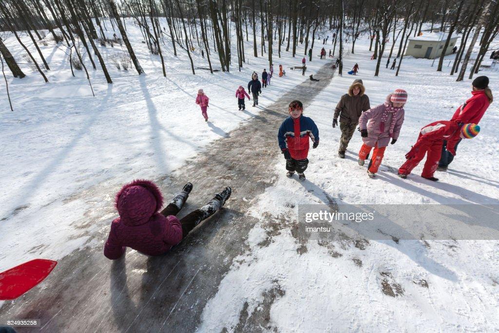 Dzeguzkalns hill in Riga : Stock Photo