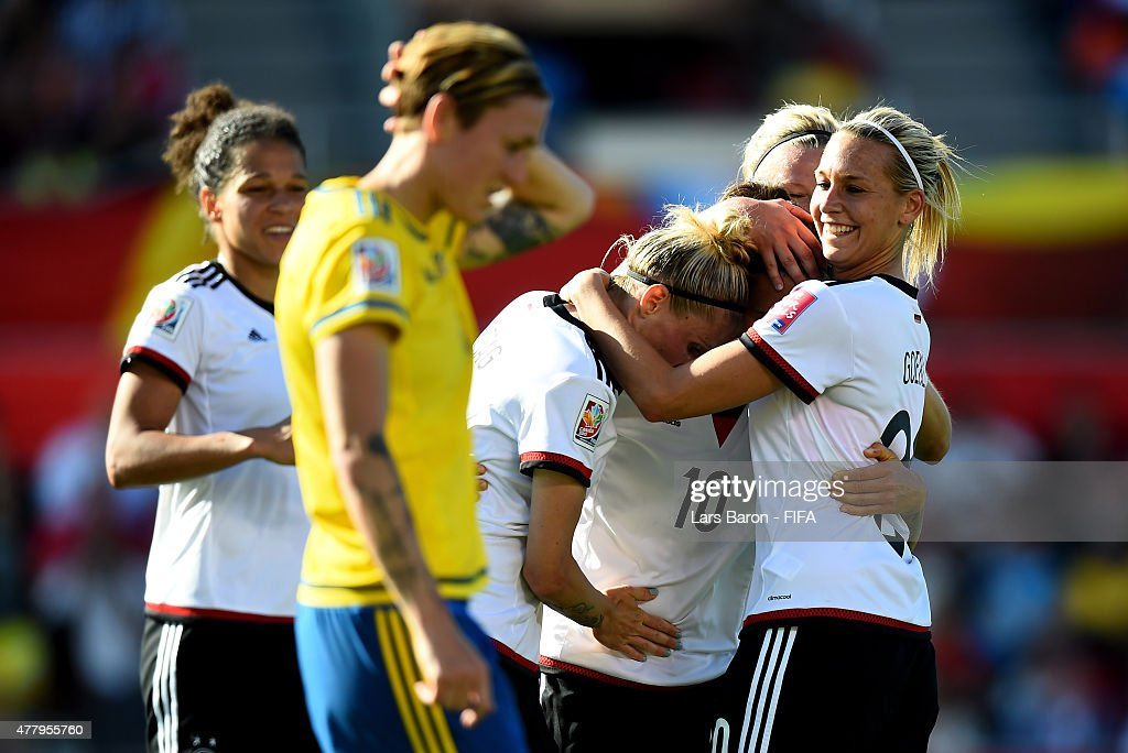 Germany v Sweden: Round of 16 - FIFA Women's World Cup 2015 : News Photo