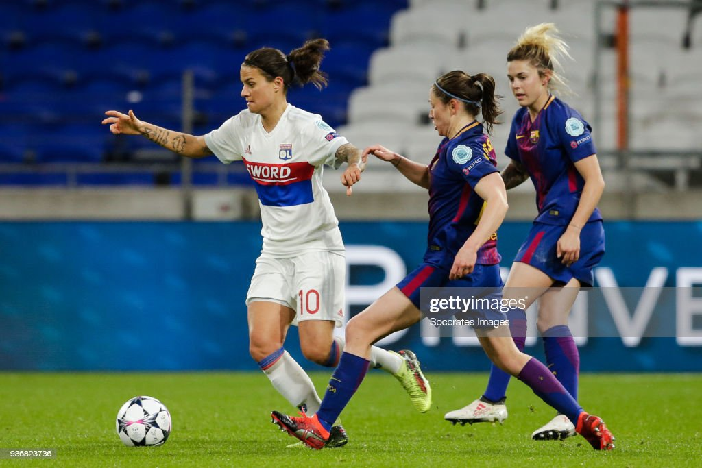 Olympique Lyon Women v FC Barcelona Women - UEFA Women's Champions League Quarter Final