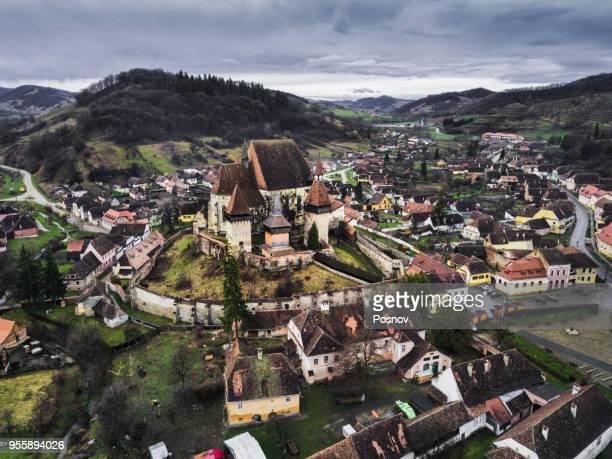 e fortified church of biertan - romênia - fotografias e filmes do acervo