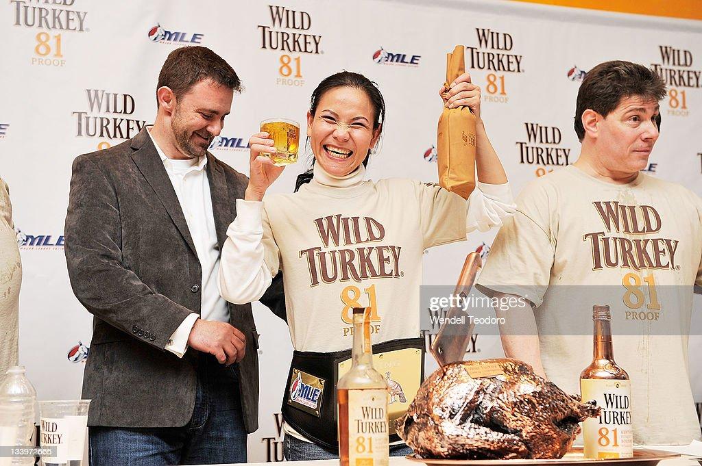 2011 Wild Turkey 81 Eating World Championship : News Photo