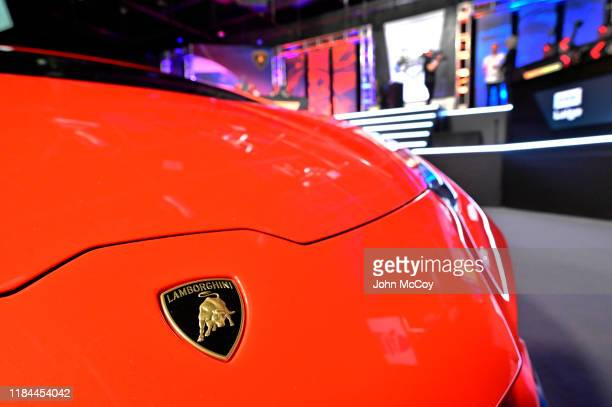 Each driver was behind the wheel of a Lamborghini during the FORZA Racing Championship 2019 Grand Final at Next Generation Esports on November 24,...