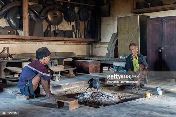 CONTENT] Each Konyak village has a communal house in which the community treasures are kept trophies animal skulls guns shields etc Those communal...
