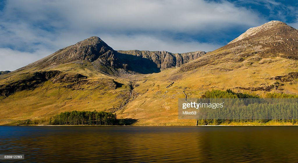 Eagle Penhasco, Buttermere. : Foto de stock