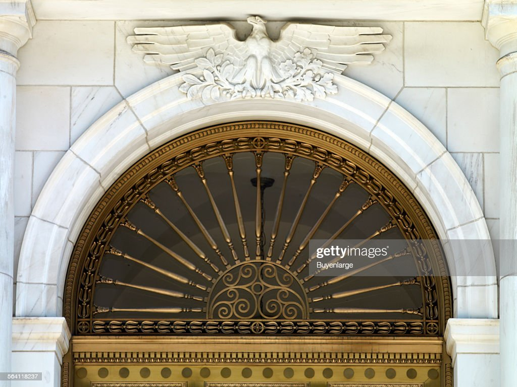 Eagle door detail Federal Building and U.S. Custom House Denver Colorado & Eagle door detail Federal Building and U.S. Custom House Denver ...