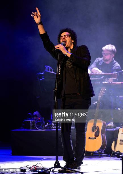 Eagle Eye Cherry performs in concert at Teatro Colón on April 04 2019 in A Coruna Spain