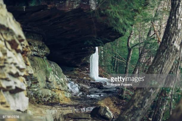Eagle Falls Trail in Winter