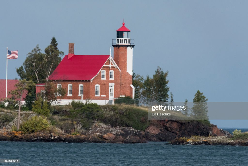 Eagle Harbor Lighthouse : Stock Photo