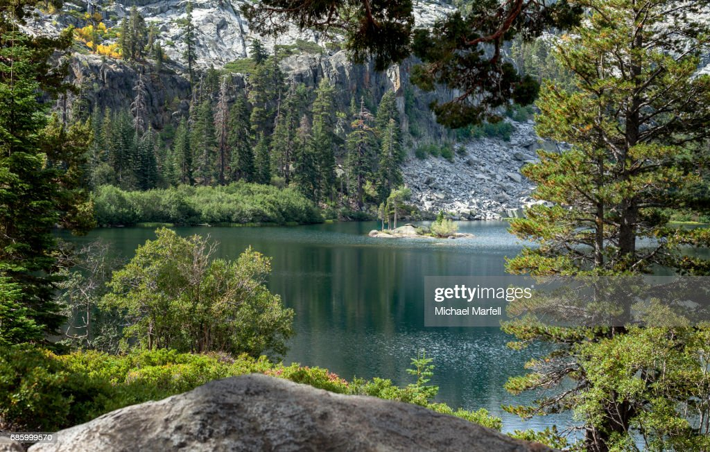 Eagle Lake - Lake Tahoe, California : Stock Photo