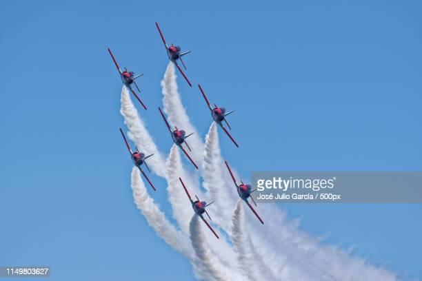 eagle patrol - 航空ショー ストックフォトと画像