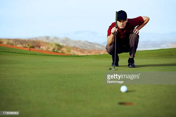 eagle putt - putting stock pictures, royalty-free photos & images