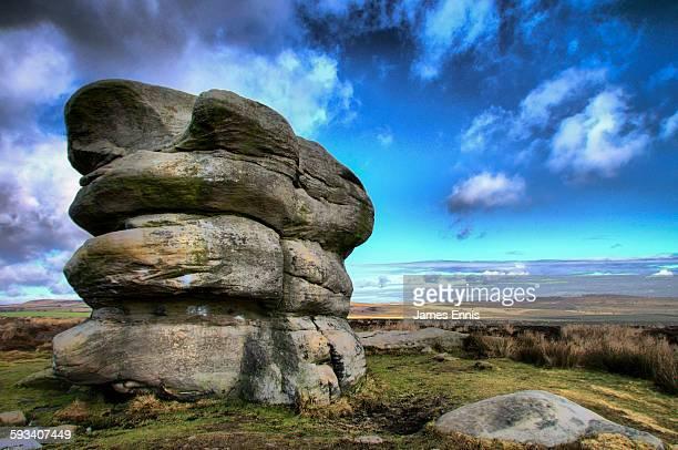 Eagle Stone, Baslow Edge, Peak National Park, UK