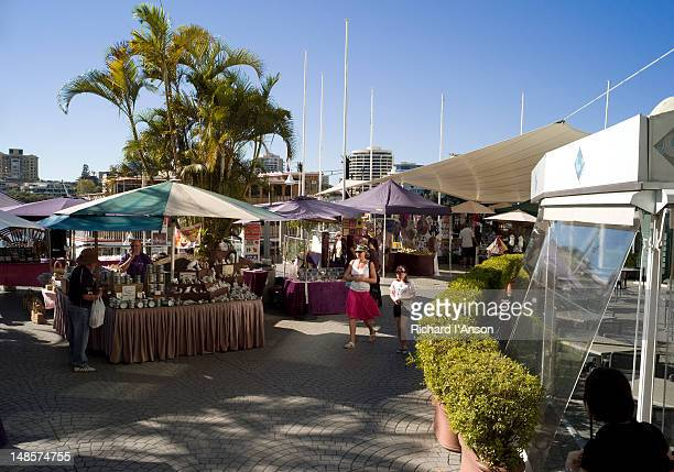 eagle street sunday market. - day of the week stock pictures, royalty-free photos & images