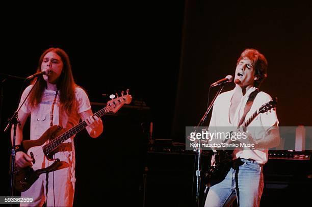 Eagles Glenn Frey and Timothy B Schmit live at Nippon Budokan, Tokyo, September 17, 1979.