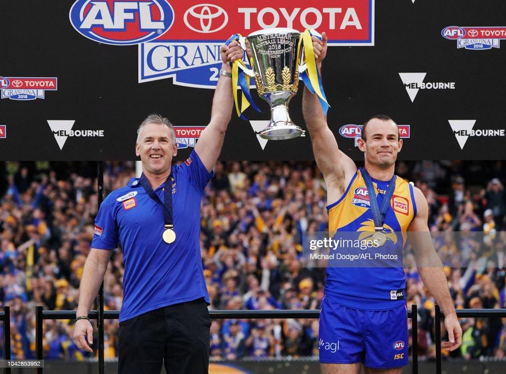 2018 AFL Grand Final - West Coast v Collingwood : News Photo
