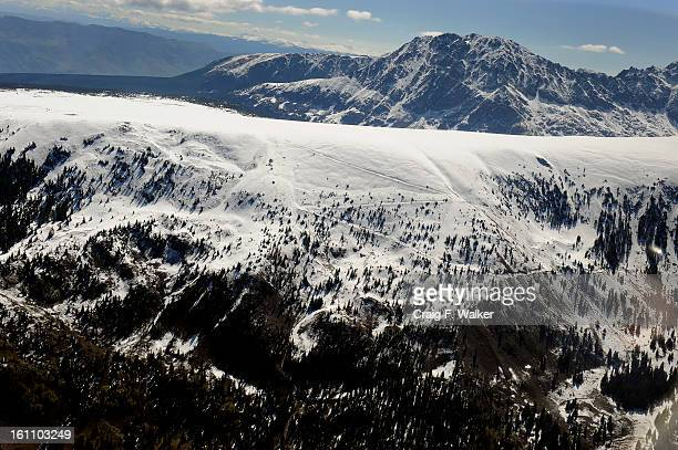 Eagles Nest and Mount Powell in the Eagles Nest Wilderness area along the Gore Range The Hidden Gems proposal proposes expanding Eagles Nest...