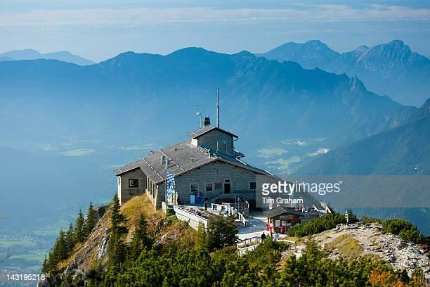 Eagle's Nest Kehlsteinhaus Hitler's lair at Berchtesgaden in the Bavarian Alps Germany