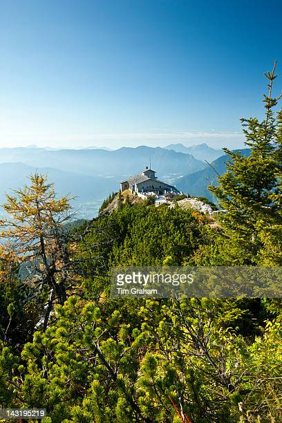 Eagle's Nest Kehlsteinhaus Hitler's lair at Berchtesgaden in the Bavarian Alps Germany