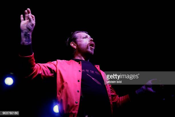 Eagles of Death Metal Zipper DownTour Jesse The Devil Hughes Dave Catching Brian OConnor und Claude Coleman Live Music Hall Köln