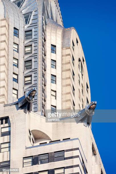 Eagles of the Chrysler Building in New York City USA