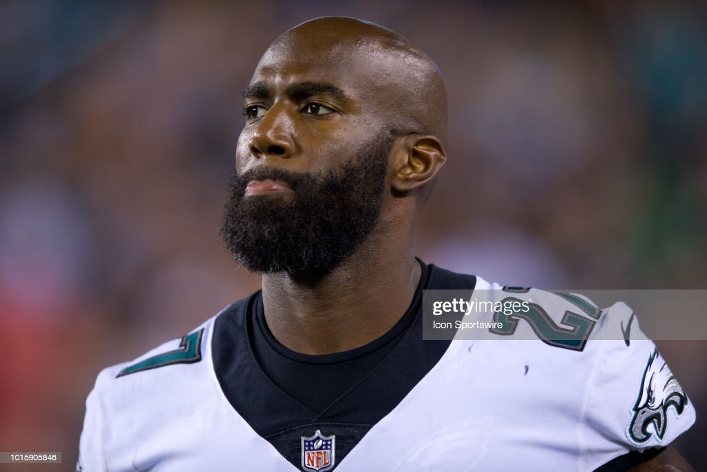 242f73719 Eagles Safety Malcolm Jenkins (27) returns to the field after halftime  during the NFL