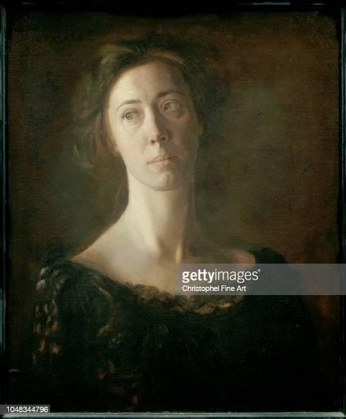 Eakins Thomas Portrait of Clara J Mather Orsay Museum