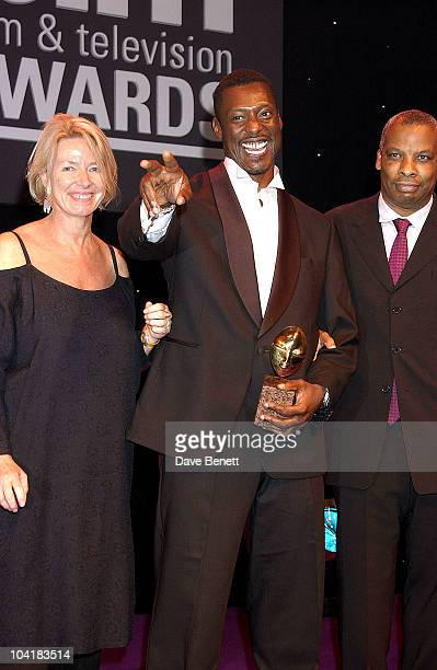 Eammon Walker And Don Warrington Bfm Film And Television Awards At The Grosvenor House Hotel In London