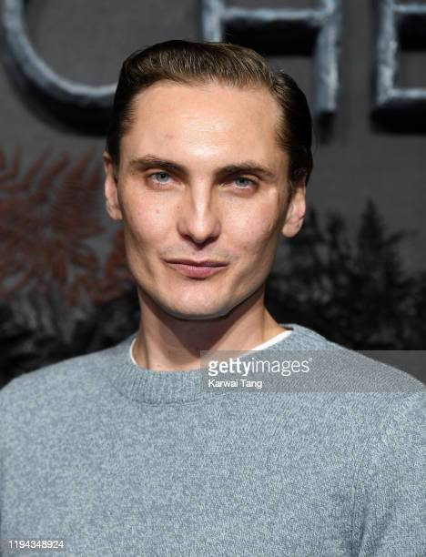 Eamon Farren attends The Witcher World Premiere at The Vue on December 16 2019 in London England