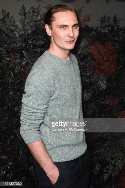 Eamon Farren attends The Witcher World Premiere at Vue Cinema West End on December 16 2019 in London England