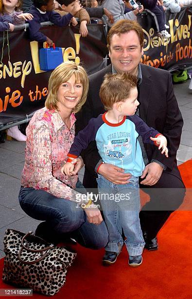 Eamon Holmes and family during 'Winnie the Pooh on Stage' Gala Performance at Carling Apollo Hammersmith in London Great Britain