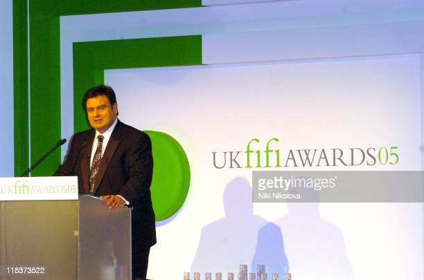 Eamon Holmes during 2005 UK FiFi Awards Show at The Dorchester in London Great Britain