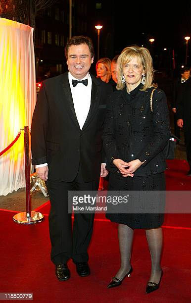 Eamon Holmes during A BAFTA Tribute To Bob Monkhouse at BBC White City in London Great Britain