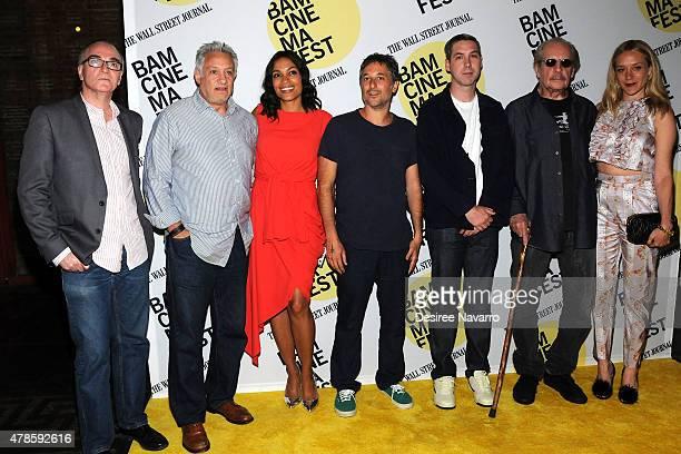 Eamonn Bowles producer Cary Woods actress Rosario Dawson Harmony Korine Leo Fitzpatrick director Larry Clark and Chloe Sevigny attend BAMcinemaFest...