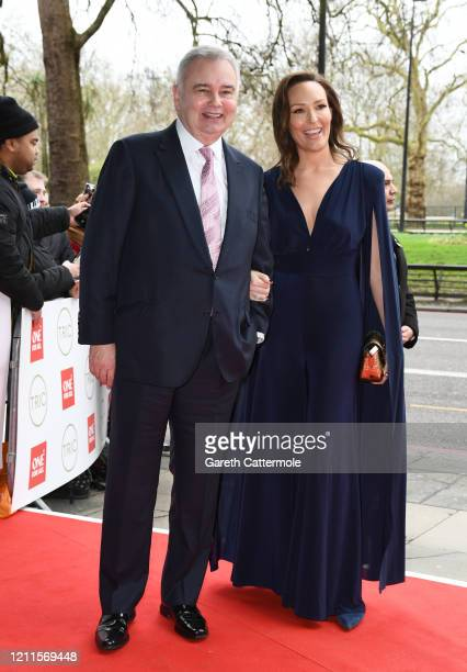 Eamonn Holmes and Isabel Webster attend the TRIC Awards 2020 at The Grosvenor House Hotel on March 10 2020 in London England