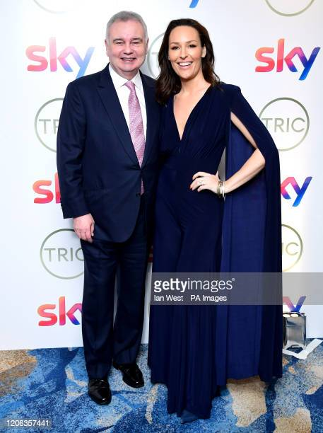 Eamonn Holmes and Isabel Webster attending the TRIC Awards 2020 held at the Grosvenor Hotel London