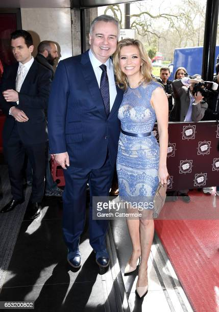 Eamonn Holmes and Rachel Riley attend the TRIC Awards 2017 on March 14 2017 in London United Kingdom