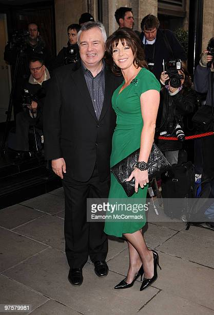 Eamonn Holmes and Ruth Langsford attend the TRIC Awards at The Grosvenor House Hotel on March 9 2010 in London England