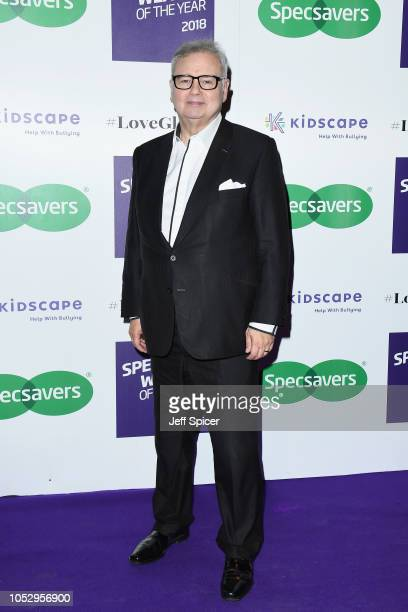 Eamonn Holmes attends the Specsavers 'Spectacle Wearer Of The Year' at 8 Northumberland Avenue on October 24 2018 in London United Kingdom