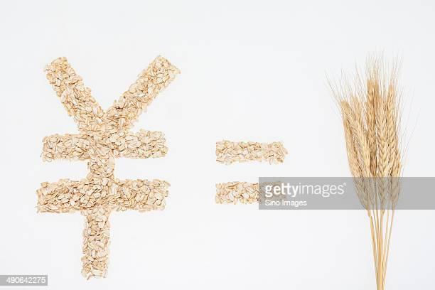 Ear Of Wheat and Oatmeal