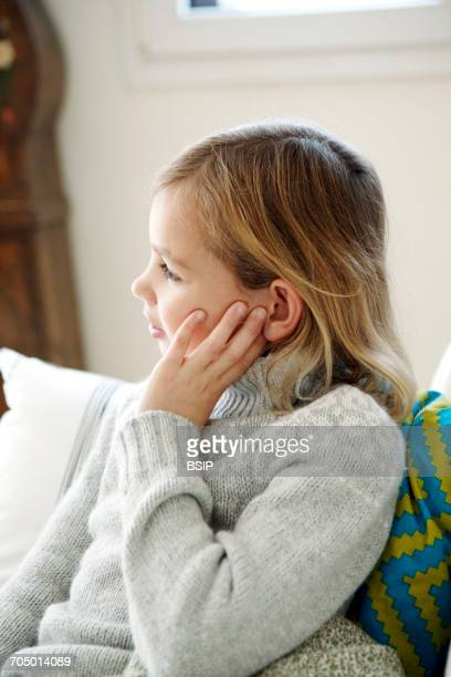 Ear pain in a child