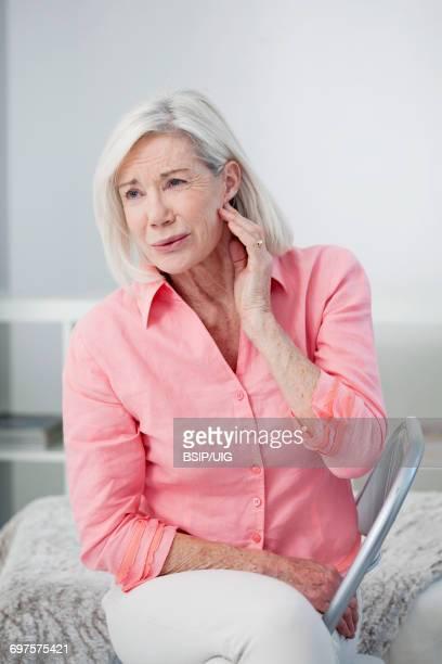 Ear pain in an elderly person