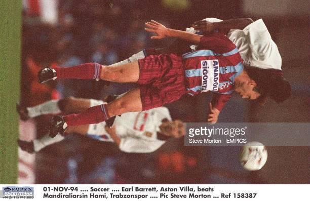 Earl Barrett Aston Villa beats Mandiraliarsin Hami Trabzonspor