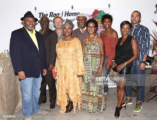 Earl Billings Glynn Turman Kevin McKidd Gina Taylor Pickens James Pickens Jr Kim Crooms Dwann Lewis Vanessa Bell Calloway and Jesse Williams attend a...