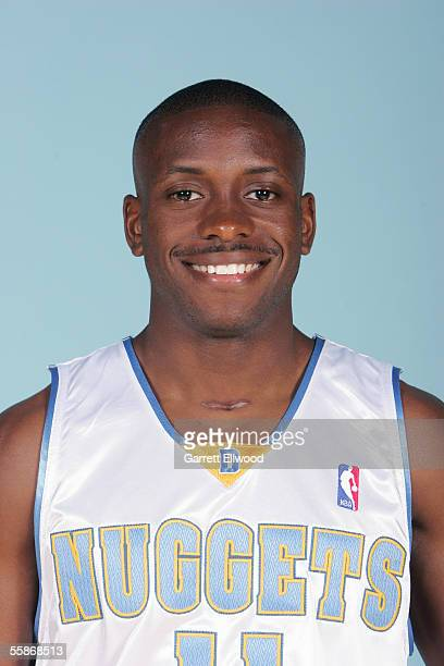 Earl Boykins of the Denver Nuggets poses for a head shot during Nuggets media day on October 3 2005 at the Pepsi Center in Denver Colorado NOTE TO...