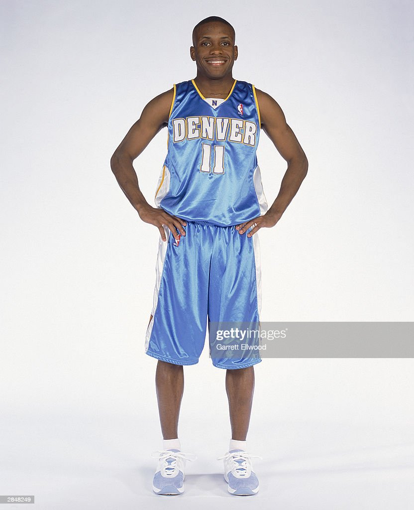 Earl Boykins #11 of the Denver Nuggets poses for a portrait on December 20, 2003 in Denver, Colorado.