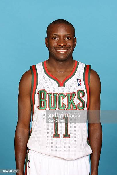 Earl Boykins of the Milwaukee Bucks poses for a portrait during 2010 NBA Media Day on September 27 2010 at the Milwaukee Bucks Training Center in St...